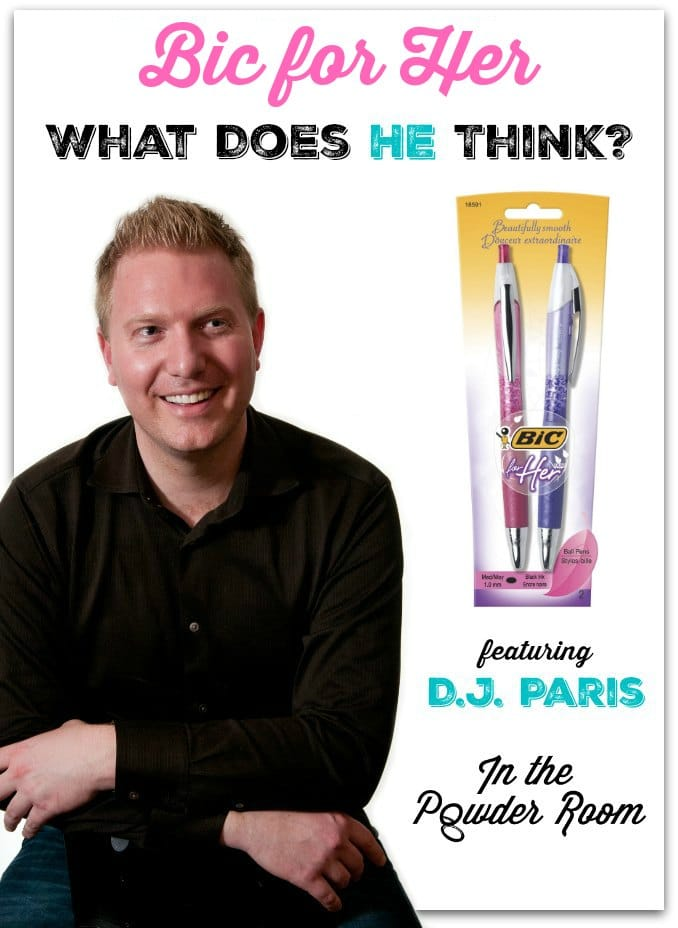 D.J. Paris Bic For Her In the Powder Room