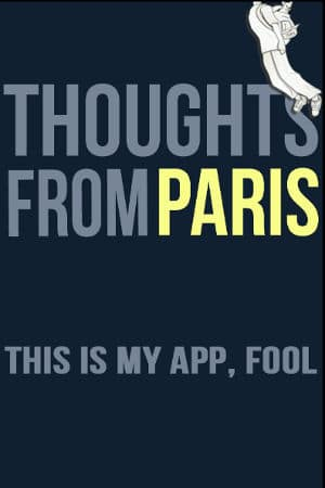 ThoughtsFromParis App