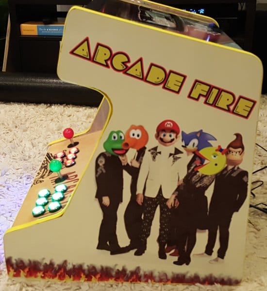 arcade fire two player tabletop arcade 2