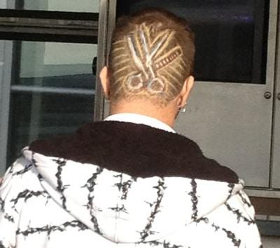 barber head