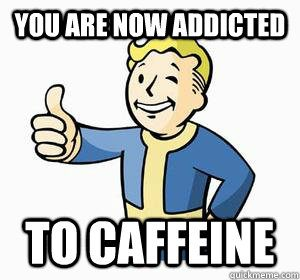 100k Twitter Followers and Caffeine Addiction