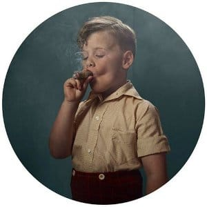child smoking