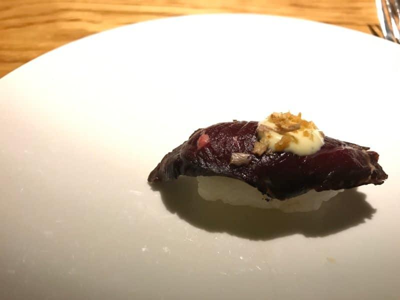 icelandic whale sushi
