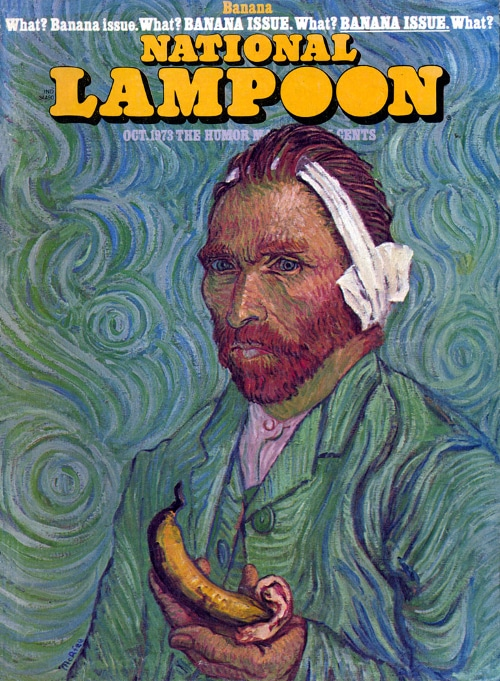 national lampoon vincent van gogh cover