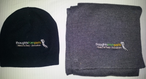 thoughts from paris scarf and hat