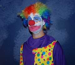 Wil Wheaton Clown